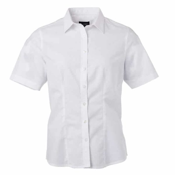 Werbeartikel Ladies Shirt Shortsleeve Oxford JN687