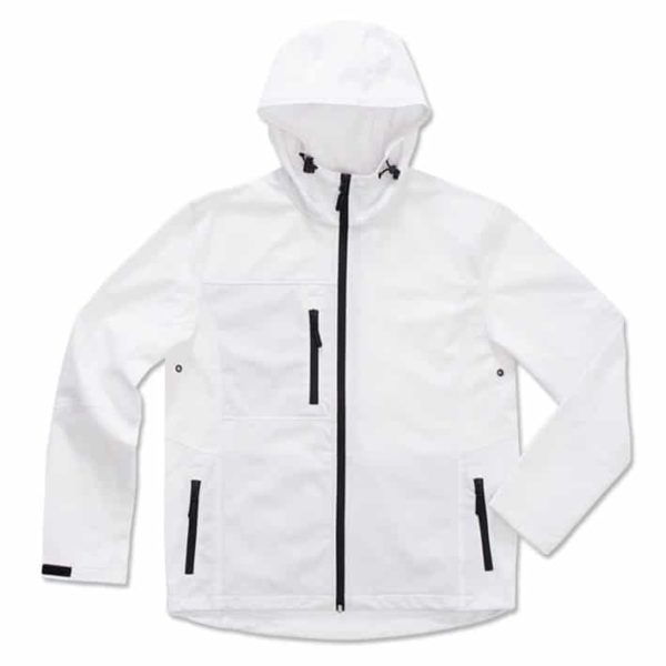 Werbeartikel Active Softest shell hooded Jacket for men ST5240